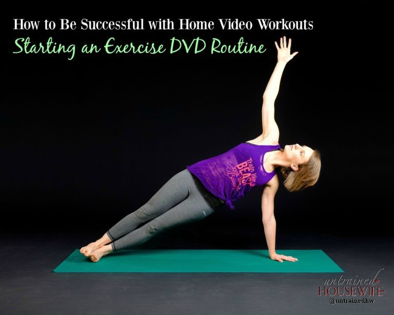 How to Be Successful with Home Video Workouts