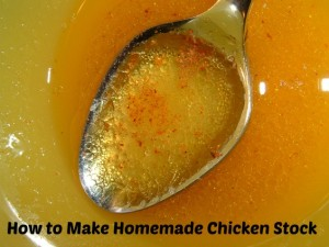 How to Make Homemade Chicken Stock Using Leftovers