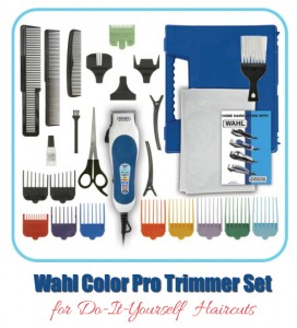 Wahl Color Pro Trimmers - For Do-It-Yourself Haircuts