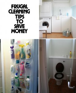 Frugal Cleaning Tips to Save Money, Save the Environment