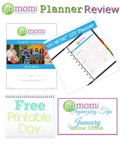 GO MOM! DIY Planner Review