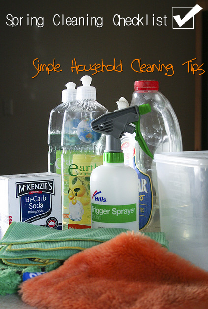 Spring Cleaning Checklist – Simple Household Cleaning Tips