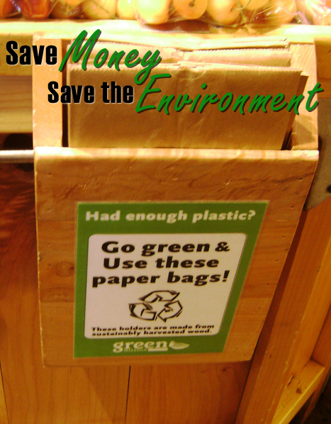 Save Money - Save the Environment