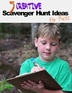 5 Creative Scavenger Hunt Ideas for Kids