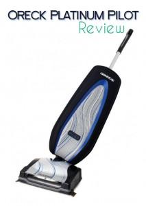 Oreck Platinum Pilot Vacuum Cleaner