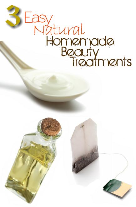 Three Easy Natural Homemade Beauty Treatments
