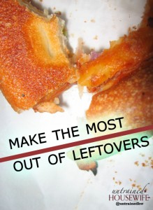 How to Make the Most of Leftovers