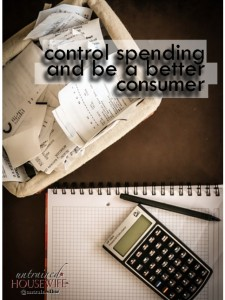 How to Control Spending and be a Better Consumer with Less Debt