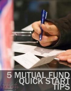 5 Mutual Fund Quick Start Tips