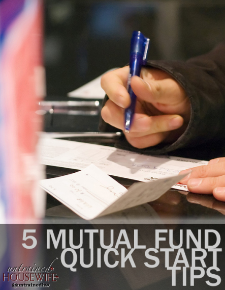 5 Mutual Fund Quick Start Tips