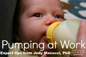 Pumping at work - expert tips to help you survive. Via @UntrainedHW