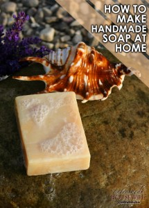 How to Make Handmade Soap at Home