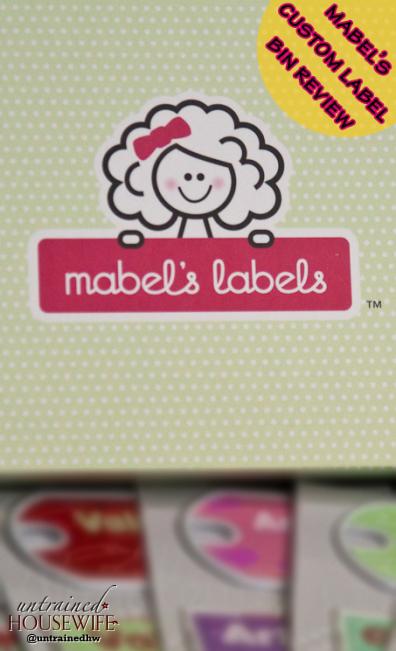 Mabel's Labels Custom Bin Labels