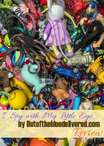 I Spy with My Little Eye by Outofthebluedelivered.com Review