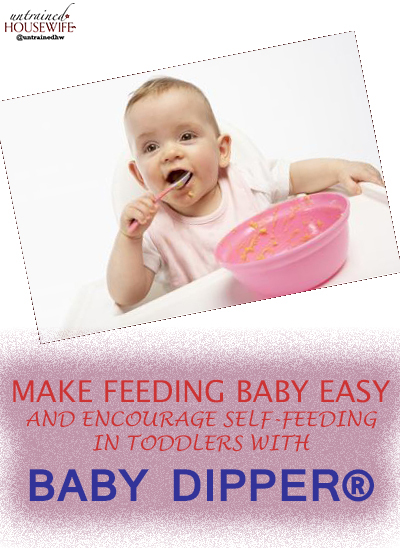 Make Feeding Baby Easy and Encourage Self-Feeding in Toddlers with Baby Dipper