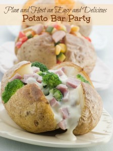 Plan and Host an Easy and Delicious Potato Bar Party