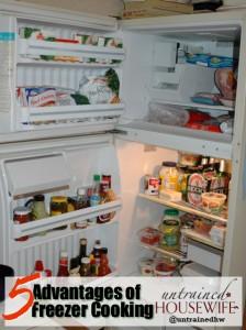 Five Advantages of Freezer Cooking