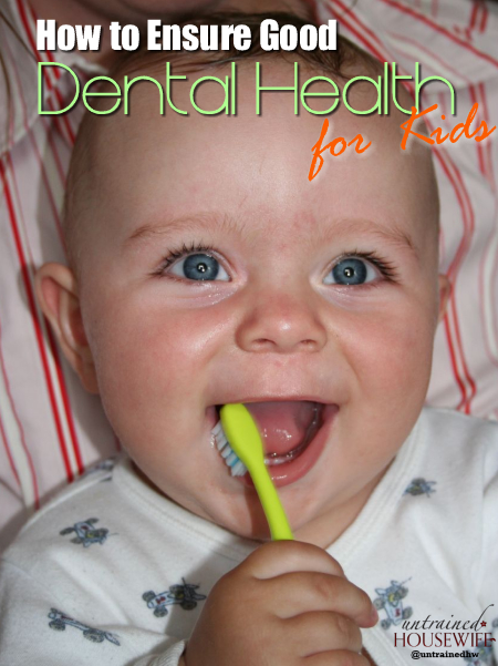 How to Ensure Good Dental Health for Kids