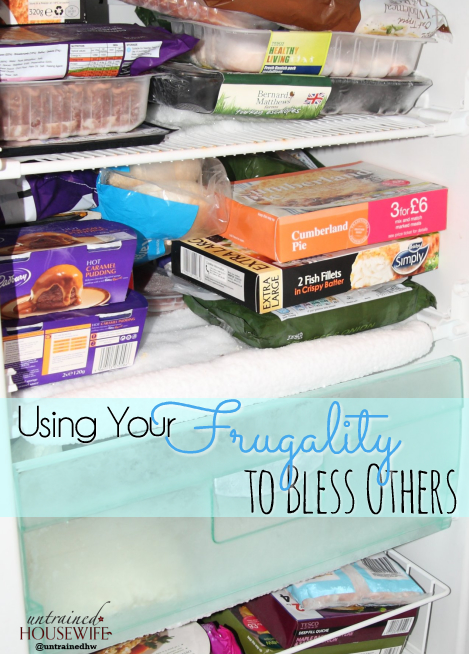 Using Your Frugality to Bless Others