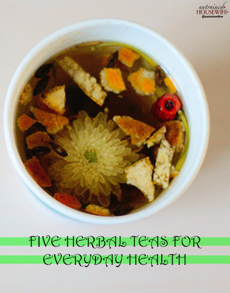 Five Herbal Teas for Everyday Health