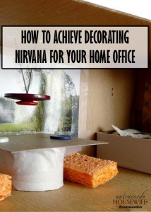 How To Achieve Decorating Nirvana For Your Home Office