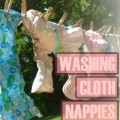 Washing Cloth Nappies Easily