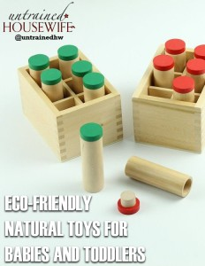 How to Buy Green, Eco-friendly, Natural Toys for Babies and Toddlers