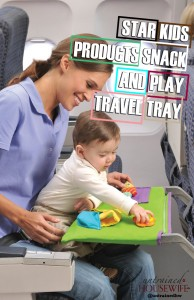 StarKids Products Snack and Play Travel Tray
