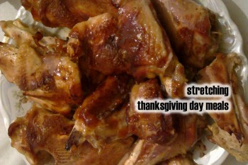 Stretching Thanksgiving Day Meals Without Eating Leftovers Everyday