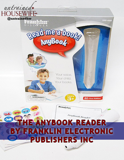 The AnyBook Reader, by Franklin Electronic Publishers, Inc