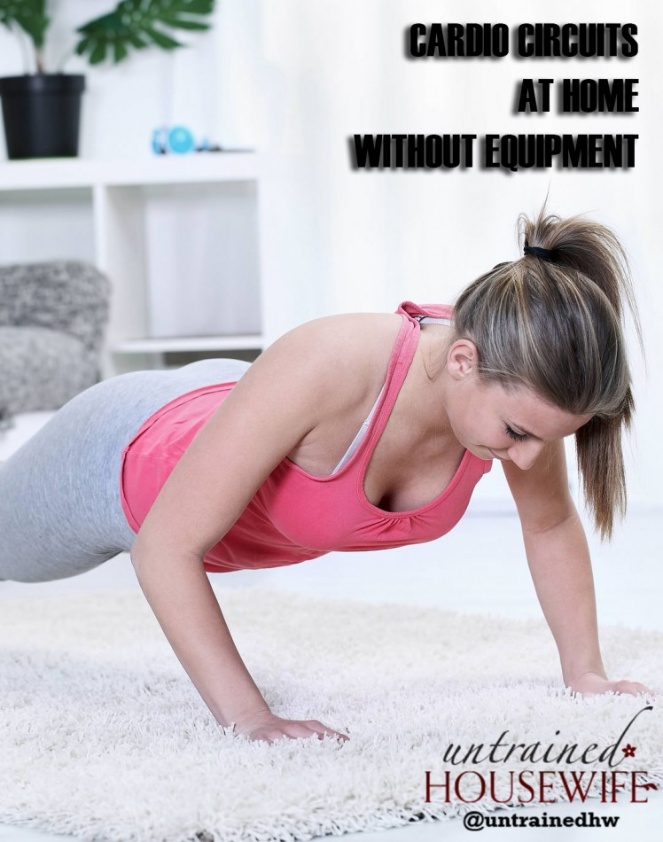 Try Cardio Circuits at Home with No Equipment