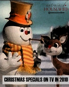 Christmas Specials on TV in 2010
