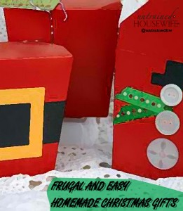 More Frugal and Easy Homemade Christmas Gifts