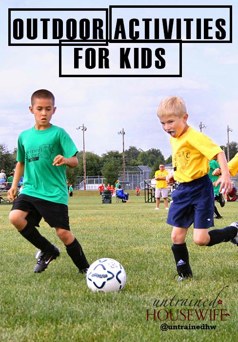 Outdoor Activities For Kids 5 Fun Energy Boosting