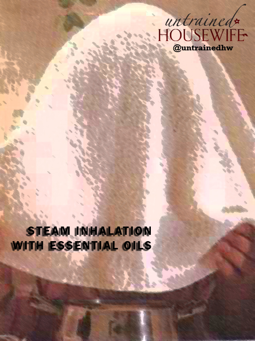 How to Do a Steam Inhalation with Essential Oils
