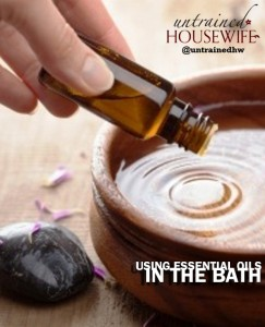 Tips for Using Essential Oils in the Bath