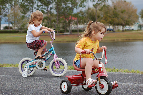 Preschool Bicycle Activities for the Classroom or at Home