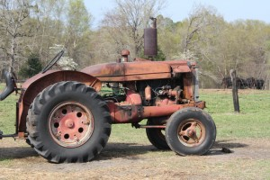 Dragging the Pasture – Old Tractors and Feeders