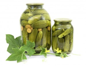 Canned Cucumbers and Pickles