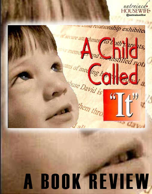 book report over a child called it Author's biography dave pelzer is an author who is famous for having suffered  childhood abuse he was born in daly city, california and was.