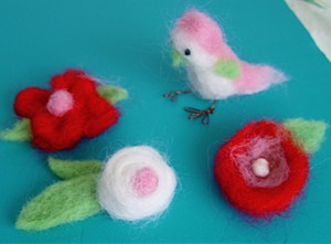 Wool Needle Felting is a Fun and Easy Crafting Hobby