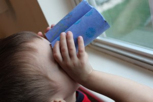 Easy Quick Craft for Toddlers: Toilet-Paper-Tube Binoculars