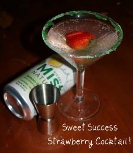 Sweet Success Strawberry Cocktail – Drink Recipe