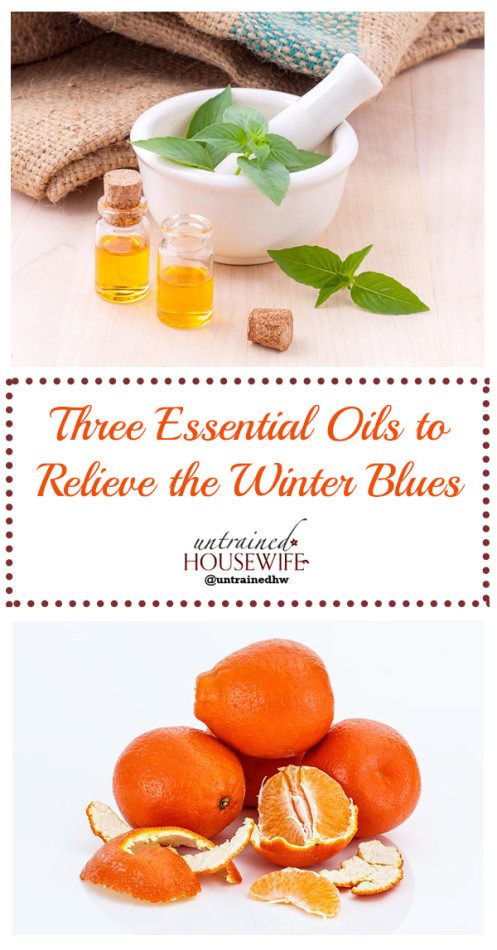 Three Essential Oils to Relieve the Winter Blues