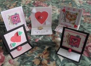 Easy Peasy Easel Valentine Cards