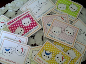 Kids' Valentine Mini Cards