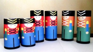 Paper Toy Soldiers
