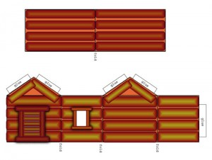Dark Log Cabin Preview