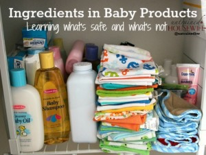 Deciphreing product ingredients to decide what's really safe for baby. @UntrainedHW
