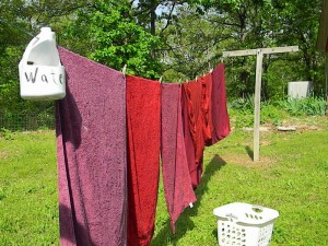 Get Prepared:  Drying Clothes Outside